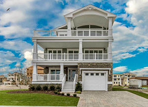 New Home Construction   Brigantine  NJ Under Contract Brigantine Point Properties   Our 3 story Model