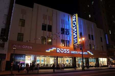 Now Open  Ross Dress for Less Takes Over Historic Woolworth Building     The new Ross Dress for Less takes over the historic Woolworth Building on  Broadway in Downtown  The new 39 000 SF