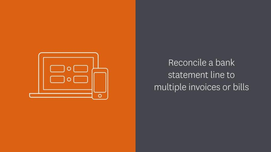 Reconcile a bank statement line to multiple invoices or bills in     Reconcile a bank statement line to multiple invoices or bills in Xero    Xero TV
