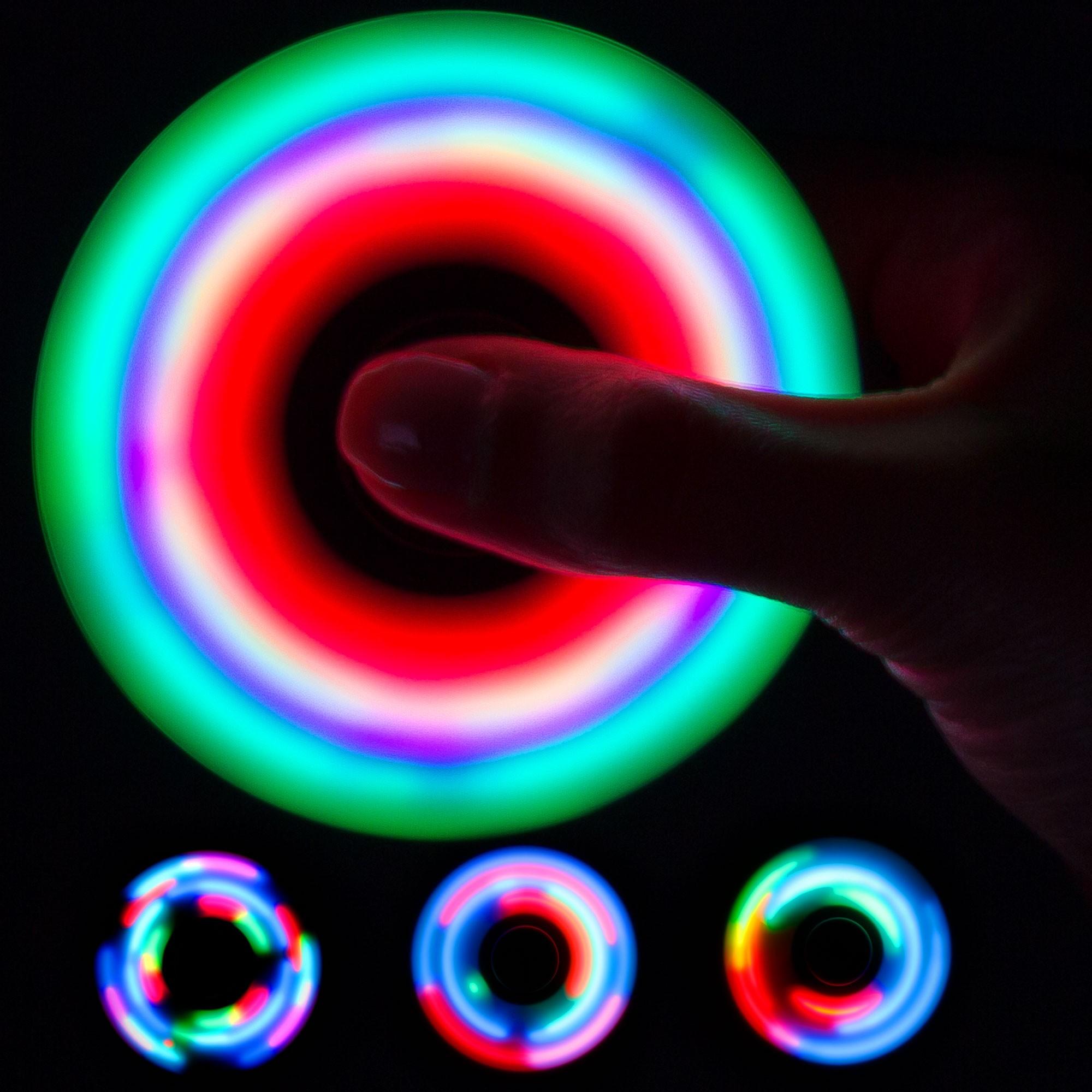 Fidget Spinners Light