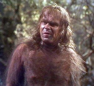 Warren Clarke as Caliban in the 1980 BBC production