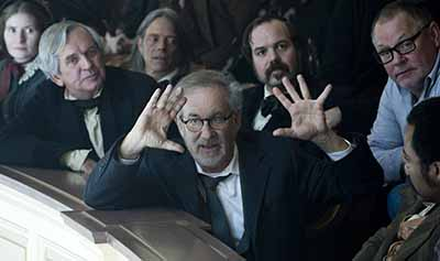 """The god of creation?"" Spielberg directing Lincoln"