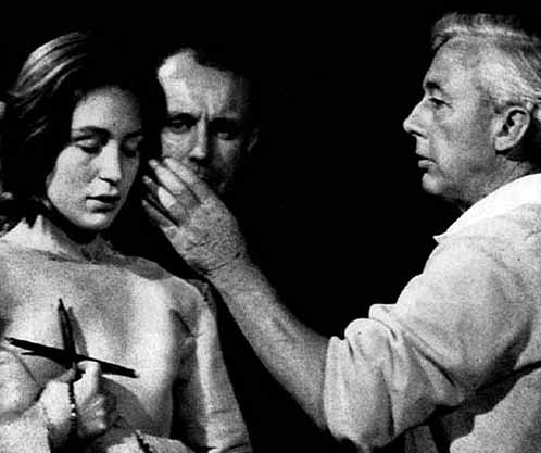 Robert Bresson directing Joan of Arc