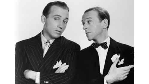 Bing Crosby and Fred Astaire