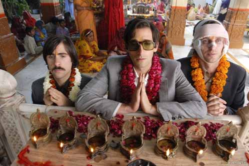 Jason Schwartzman, Adrien Brody, and Owen Wilson in The Darjeeling Limited