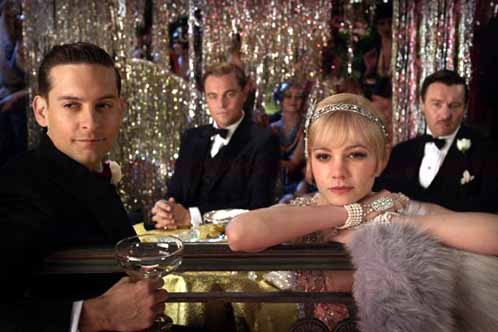 A shot from the upcoming Baz Luhrmann version of The Great Gatsby