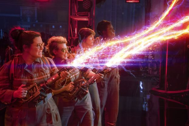 Melissa McCarthy, Kristen Wiig, Kate McKinnon, and Leslie Jones: Ghostbusters (2016)