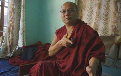 Tibetan monk Golog Jigme describing his arrest