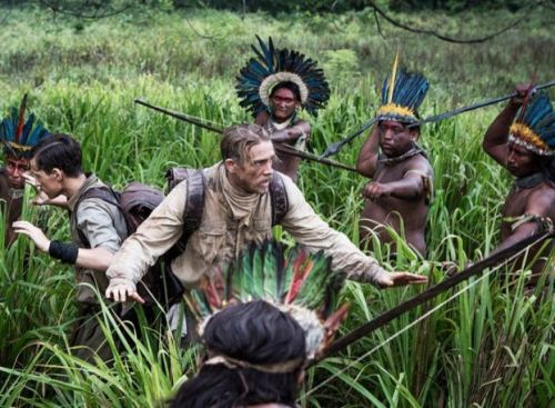 Tom Holland and Charlie Hunnam in The Lost City of Z