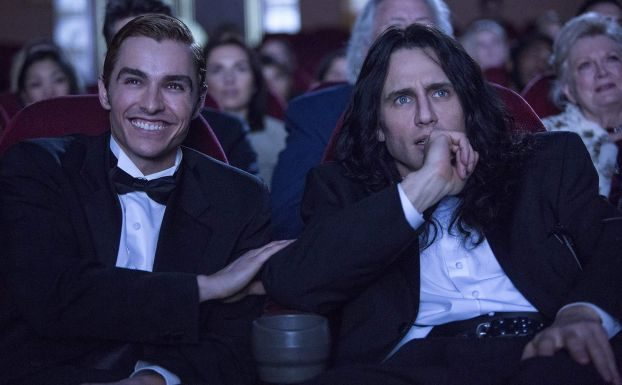 Dave Franco and James Franco in The Disaster Artist.Photo courtesy of A24