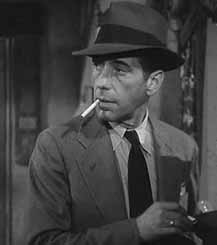 Bogart in The Big Sleep