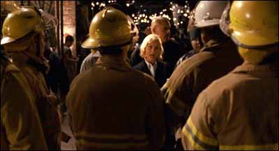 Amy Poehler's lawyer with firefighters