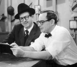 Phil Silvers and Nat Hiken