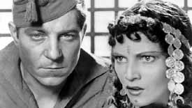 Jean Gabin and Annabella in La Bandera