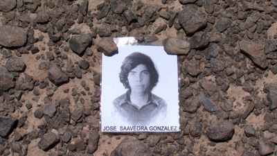 One of the disappeared: Jose Saavedra Gonzalez