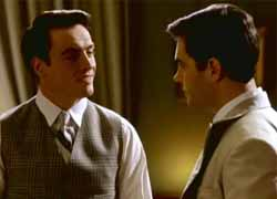 Gatsby and Nick in the 2000 TV movie version