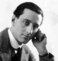 A young Basil Rathbone