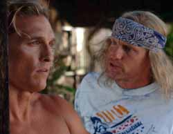 Matthew McConaughey and Woody Harrelson in Surfer, Dude