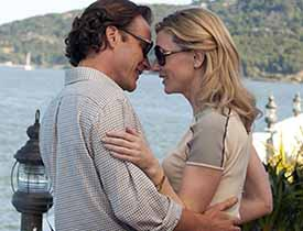 Cate Blanchett and Peter Sarsgaard as Dwight