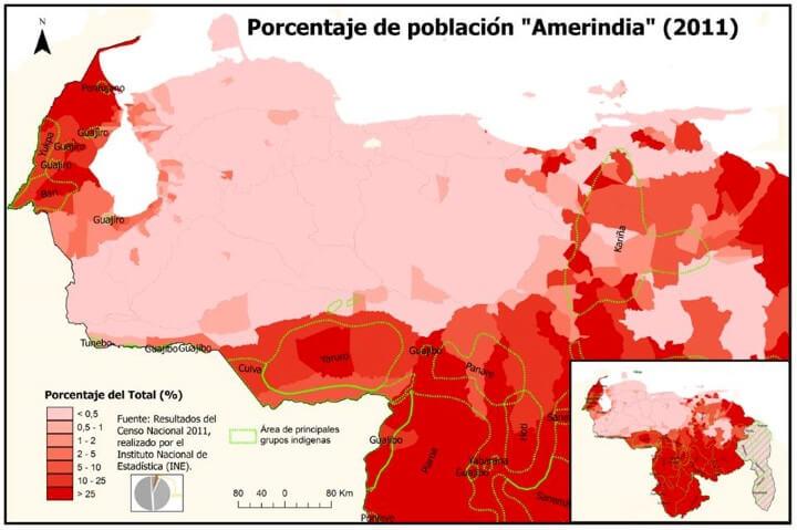 Numbers Venezuela Population