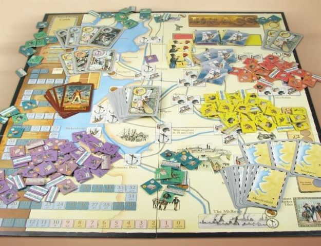 The 28 Best Map Based Strategy Board Games You ve Probably Never     Brass