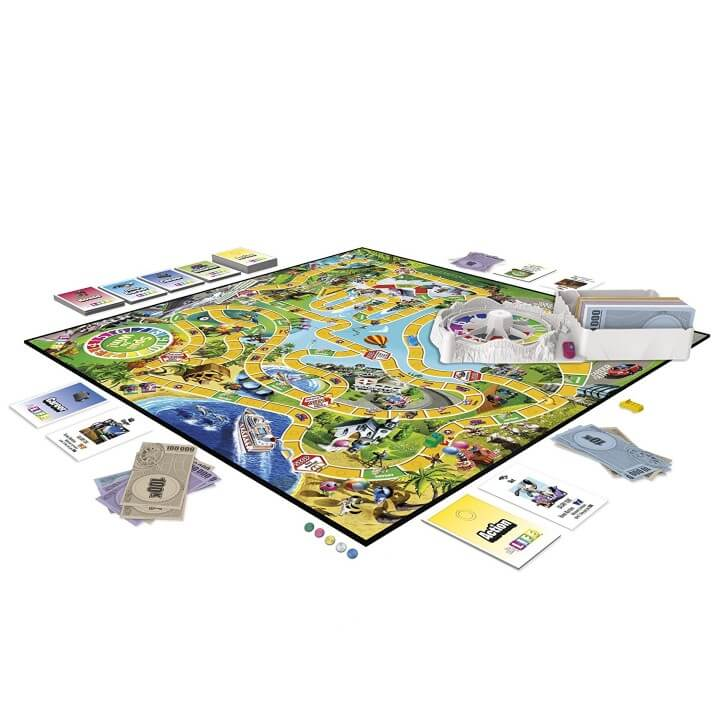 9 Game Of Life Board Game Versions You Haven t Tried     Brilliant Maps The Game of Life  TripAdvisor Edition
