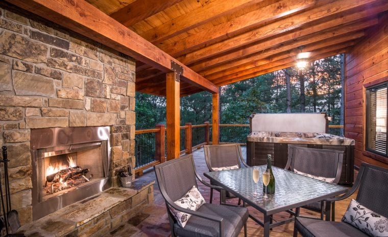 Broken Bow Lake Cabin Rentals 187 Crystal Ridge Spa Cabin