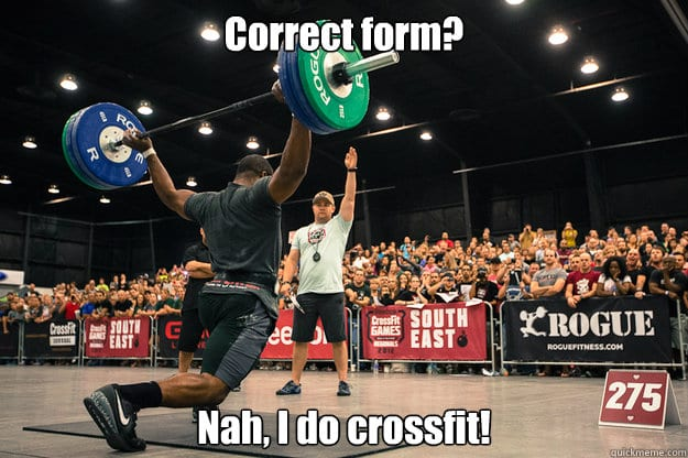 Best Mocking Crossfit Memes On The Internet