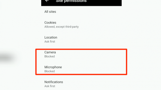 Camera and Microphone Blocked in Edge Android