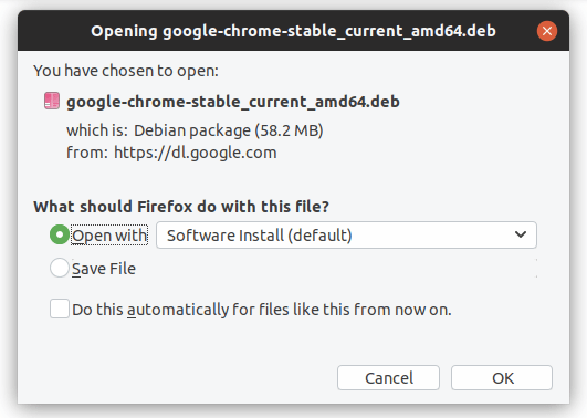 Google Chrome Stable Install in Linux Ubuntu