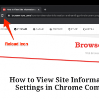 Hard Reload and Refresh the page in Chrome Computer