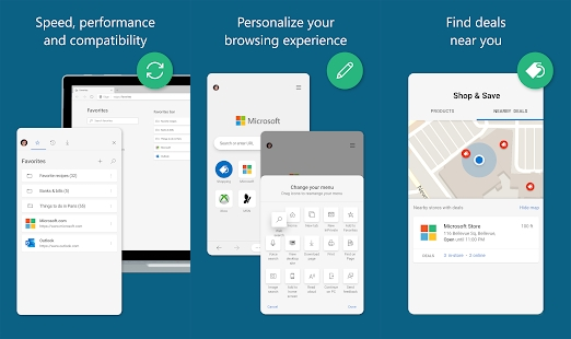 Microsoft Edge for Android Features