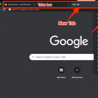 New Tab New Window Chrome Computer Browser