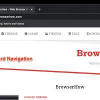 Rightward Arrow icon for Forward navigation in Chrome Computer