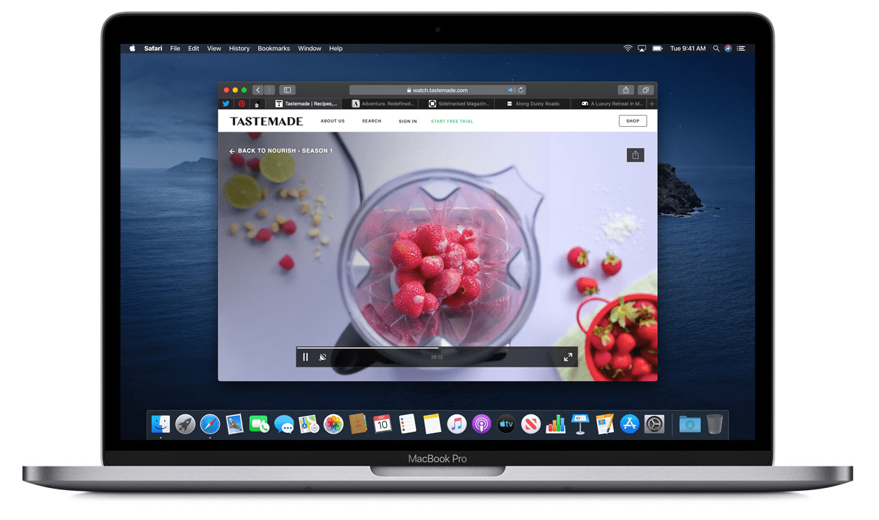 Download Apple Safari on Macbook Pro