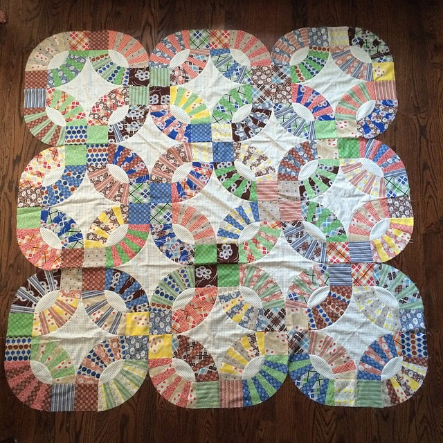 Pickle Dish Quilt Top A Finish Bryan House Quilts