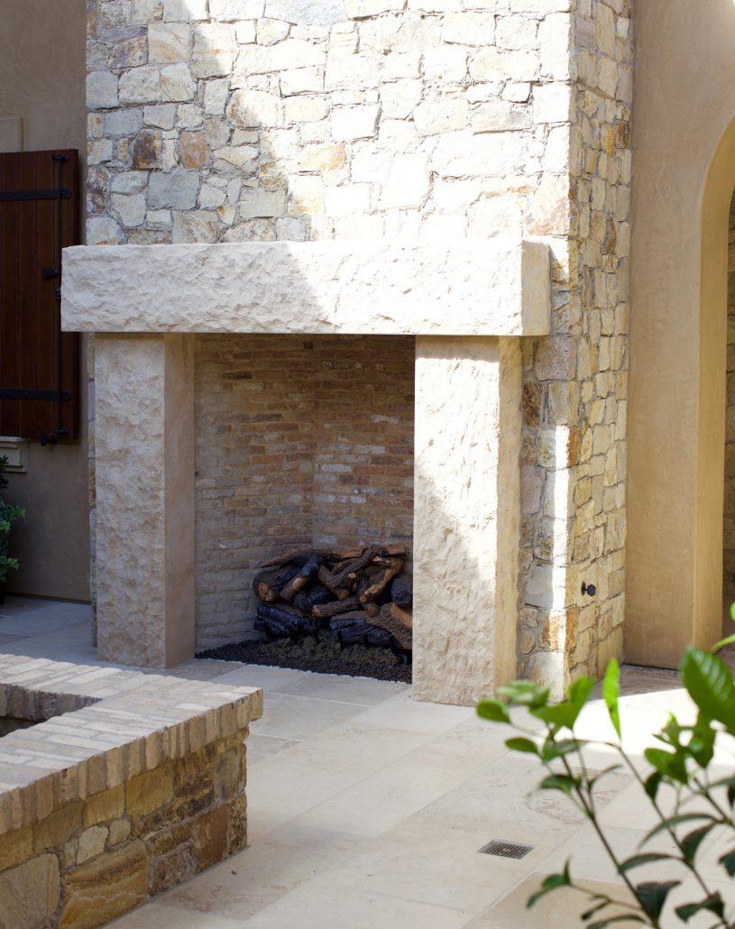 Custom Italian Amp Tuscan Stone Fireplace Mantels Bt