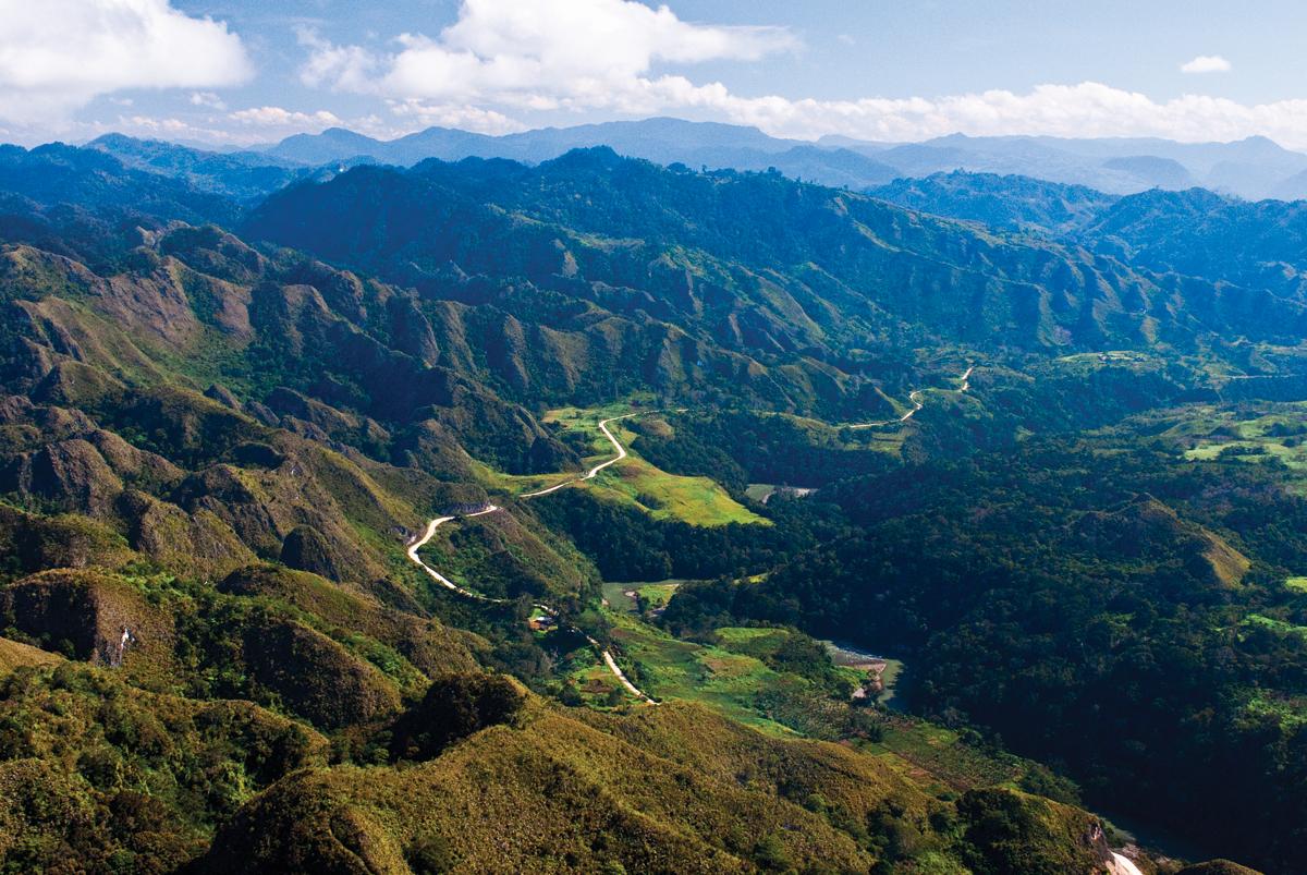 New Landforms Papua Guinea