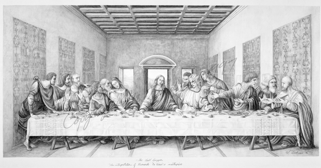 judas leaves last supper into the night - 1091×570