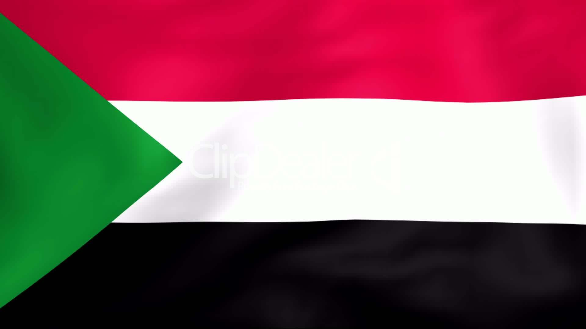 Flag Of Sudan Royalty Free Video And Stock Footage