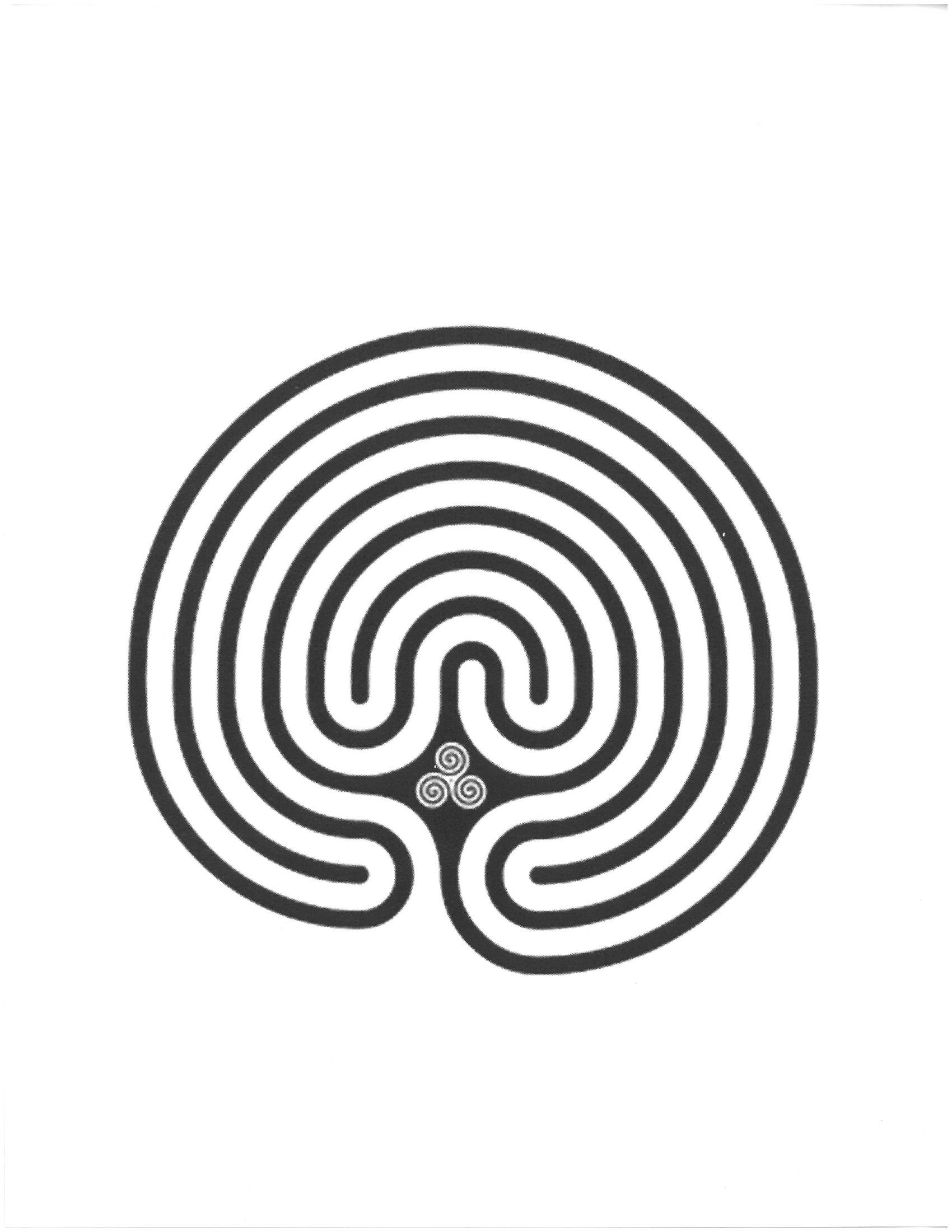 A Finger Labyrinth Project For All Ages