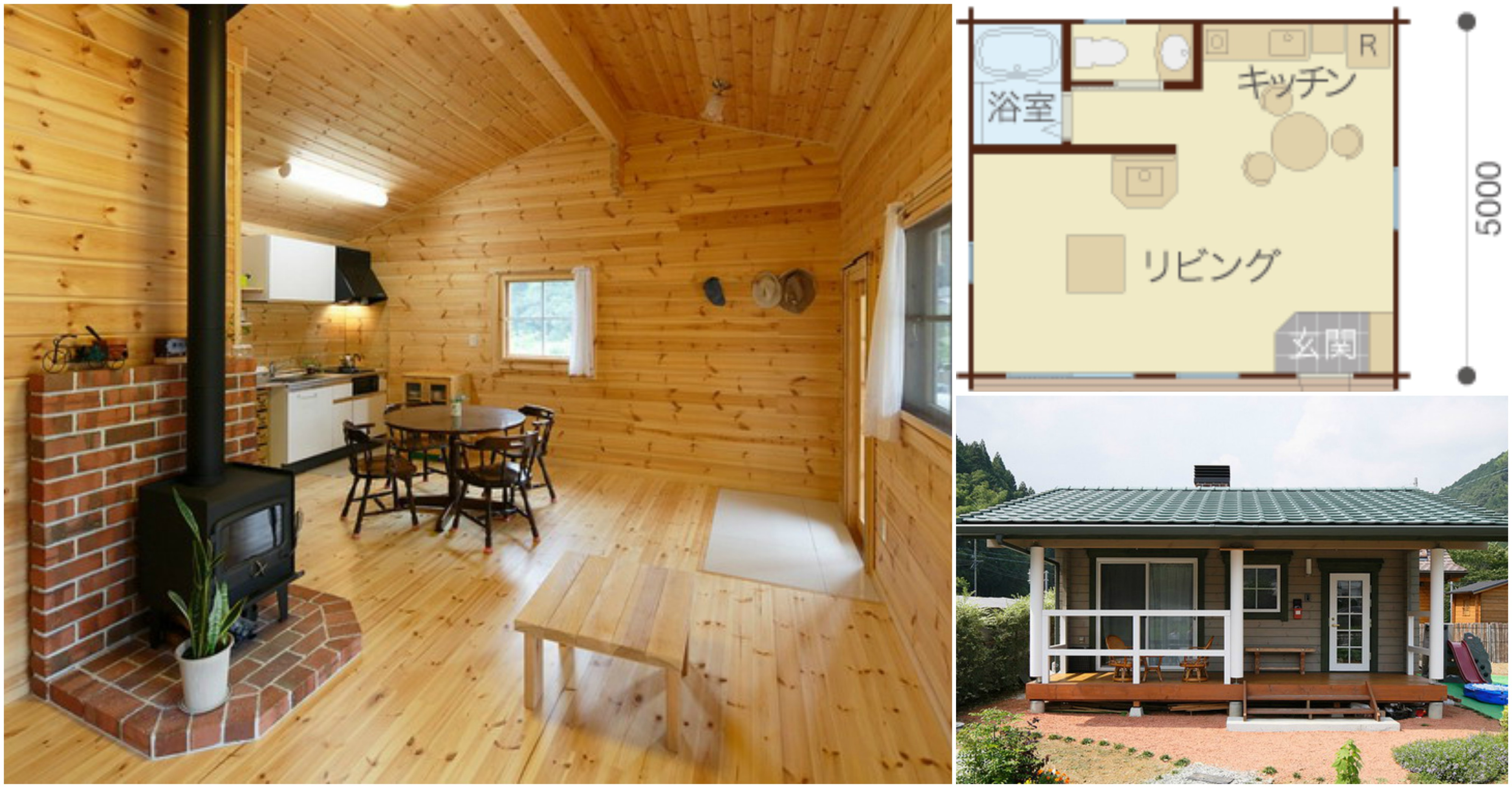 A Japanese Style Tiny House Check Out That All Wood Interior