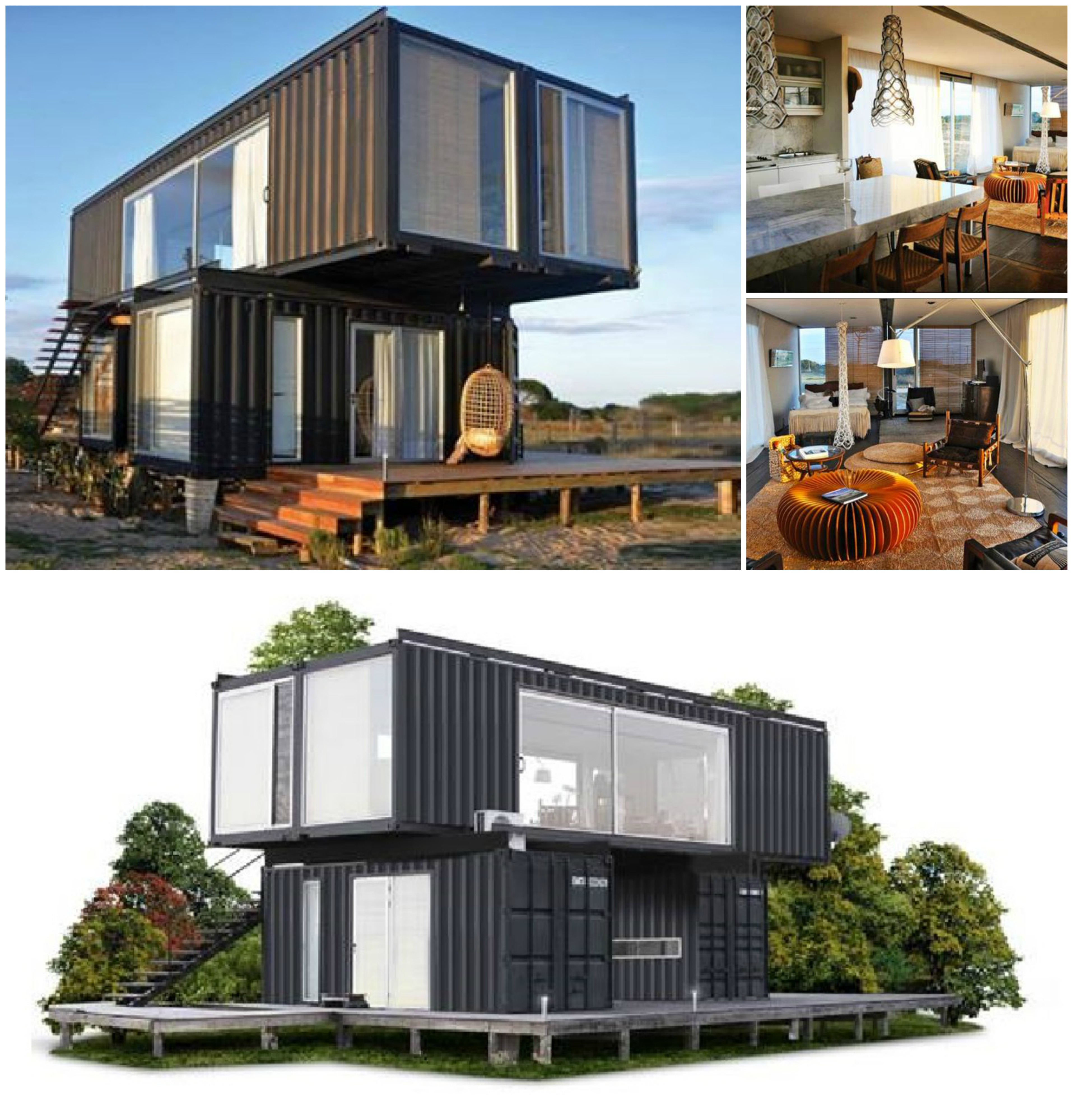 Best Kitchen Gallery: Shipping Container Homes Los Angeles Home Furniture Design of Carolina Beach Container Home on rachelxblog.com