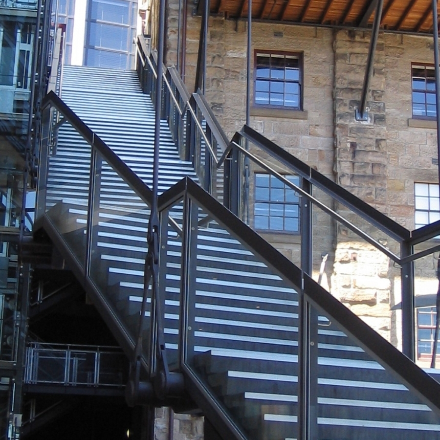 Metal Stair Treads And Nosing Buildipedia | Outdoor Metal Stair Steps | Stair Railing | Stair Riser | Deck Stairs | Stair Stringer | Wrought Iron Railings