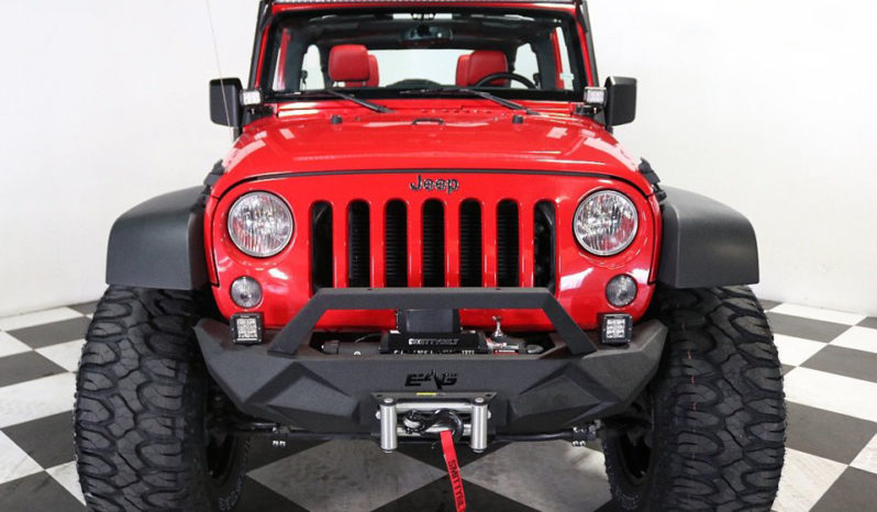 2018 Jeep Wrangler JK Unlimited – Red full