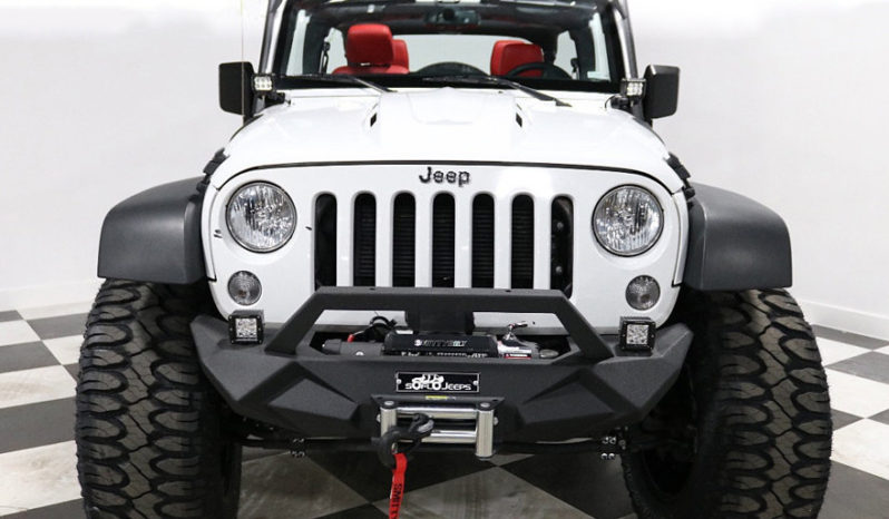 2018 Jeep Wrangler JK Unlimited – White full