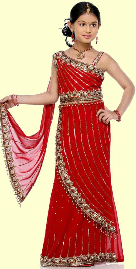 Indisches Kleid