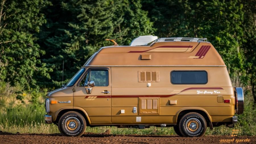 1985 GMC Vandura 2500 Get Away Van Camper Chevrolet Conversion For