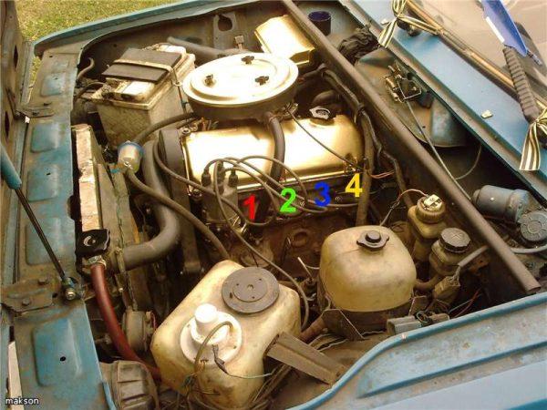 Moottori VaZ 21107.