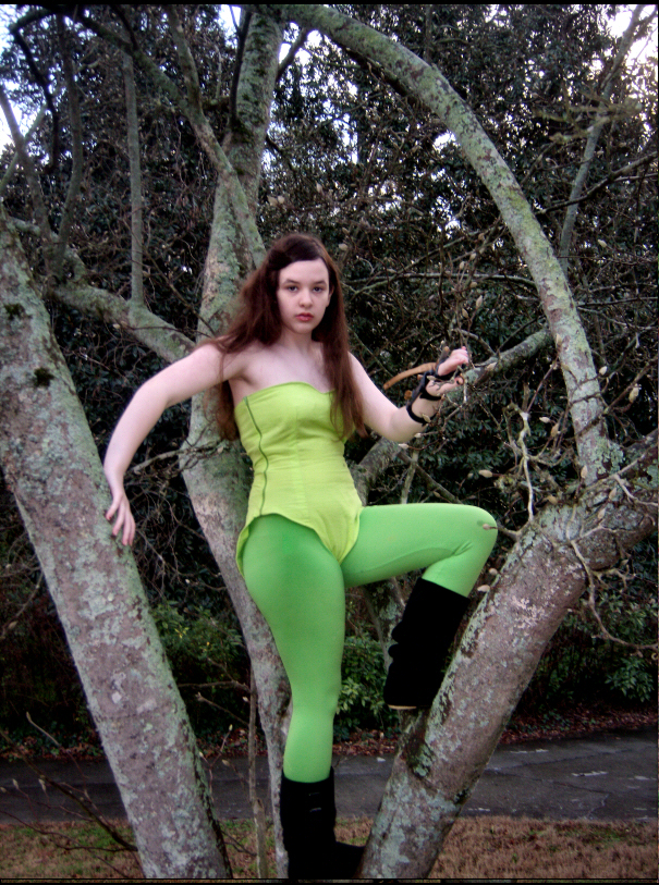 Poison Ivy From Batman Costume Sewing Projects